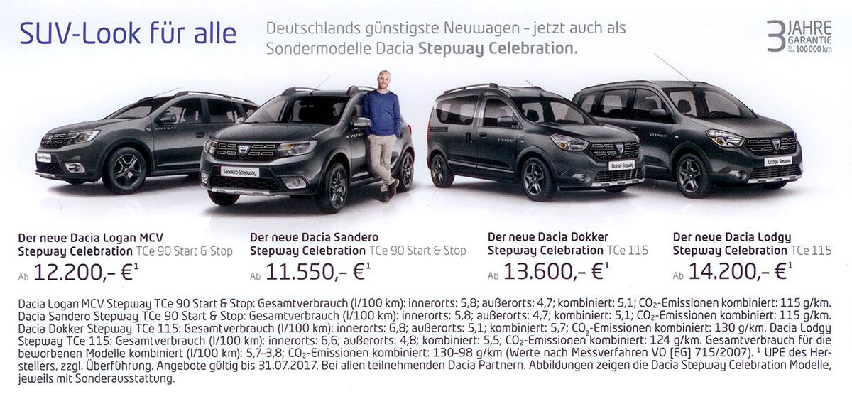 Autohaus Wagner - Dacia SUV-Look für alle