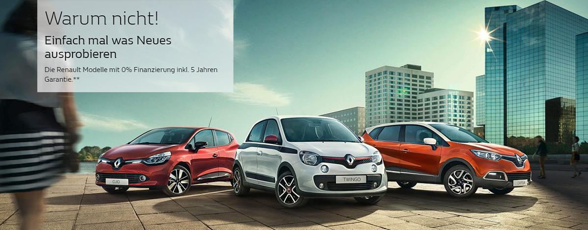 Renault Twingo, Captur, Clio
