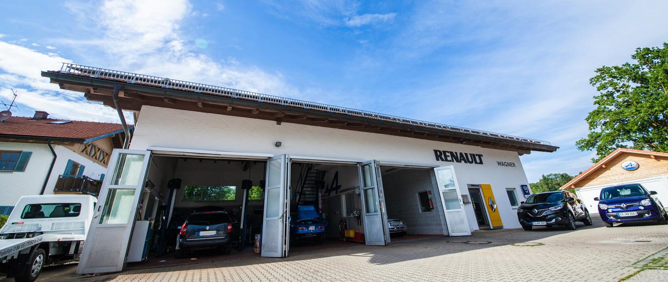 Autohaus Wagner - Renault Werkstatt