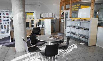 Opel Ausstellungsraum