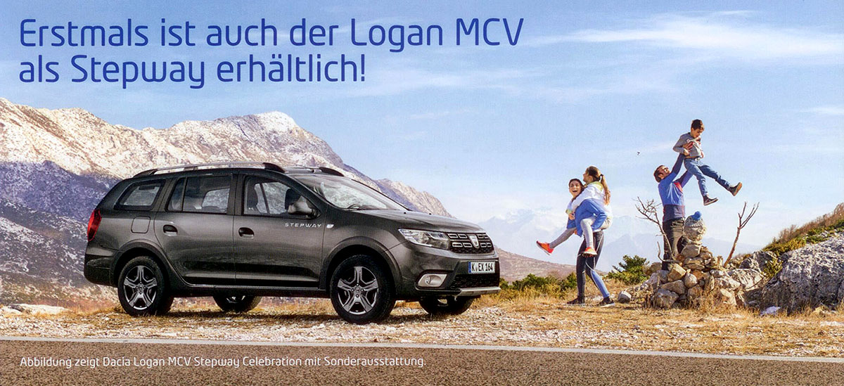 Autohaus Wagner - Dacia Logan MCV Stepway Celebration